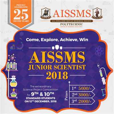 AISSMS Junior Scientist 2018