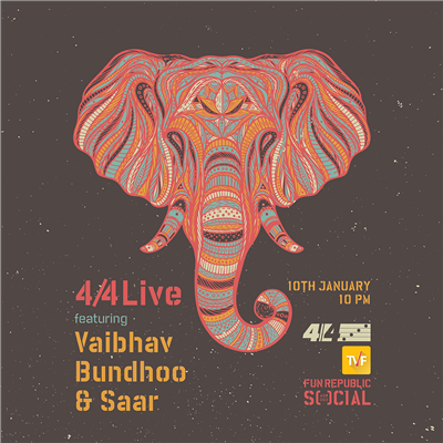 4by4 Live featuring Vaibhav Bundhoo and SaaR