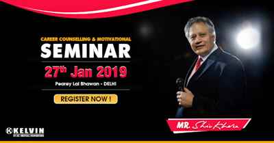 Career Counselling Motivational Seminar 2019