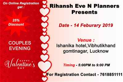 Valentine s Day Event in Lucknow