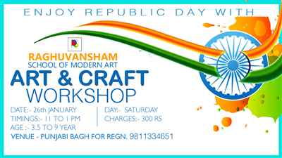 Art Craft Workshop
