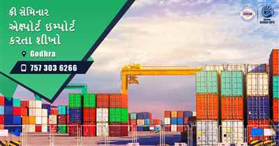 Free Seminar on Export Import at Godhra