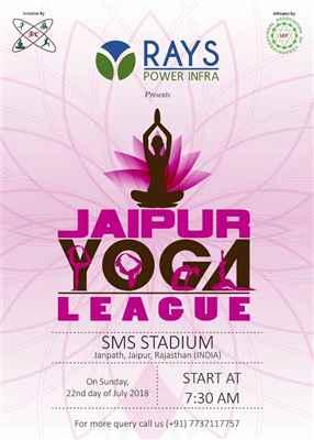 Jaipur yoga league 2018