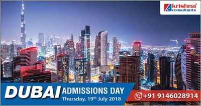Dubai Admission Day at Krishna Consultants