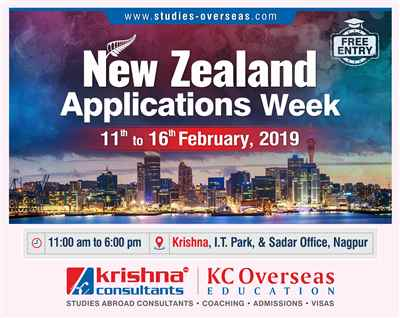 New Zealand Applications Week 11th to 16th February 2019