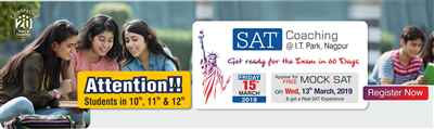 SAT Coaching in Nagpur New Batch Starting from Friday 15th March 2019