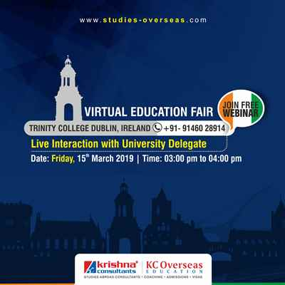 Interact Online with Trinity College Dublin Webinar 15th March 2019