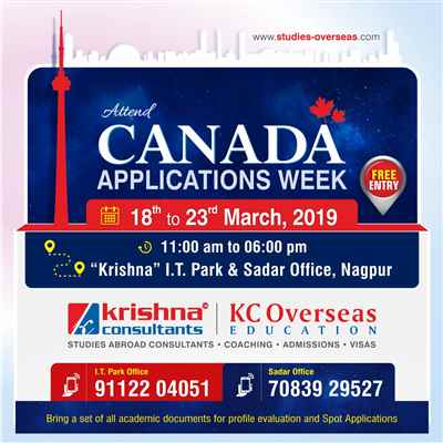 Canada Applications Week 18th to 23rd March 2019