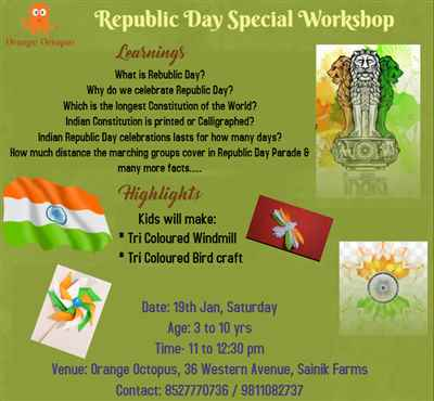 Republic Day Special Workshop