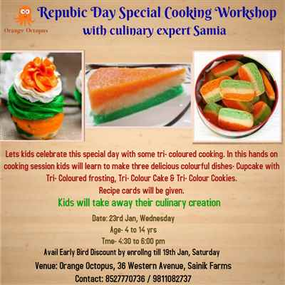 Republic Day Special Cooking Workshop at Orange Octopus