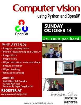 Workshop on Computer Vision using Python open CV