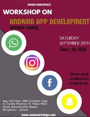 Workshop on Android App Development