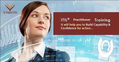 ITIL Practitioner Certification Training ITIL Practitioner Exam Prep Vinsys