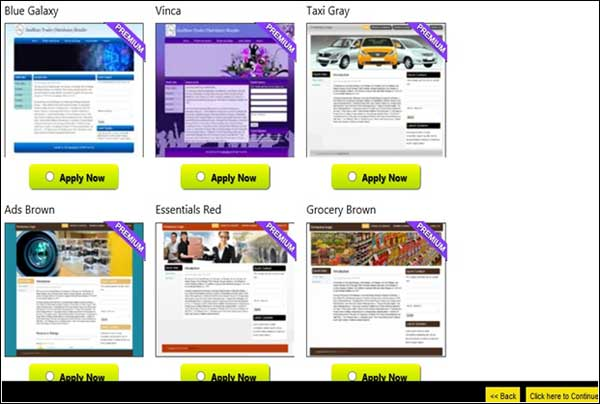 Templates for every business on Get Online