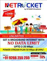 Netrocket Broadband-Wysner Networks Pvt Ltd