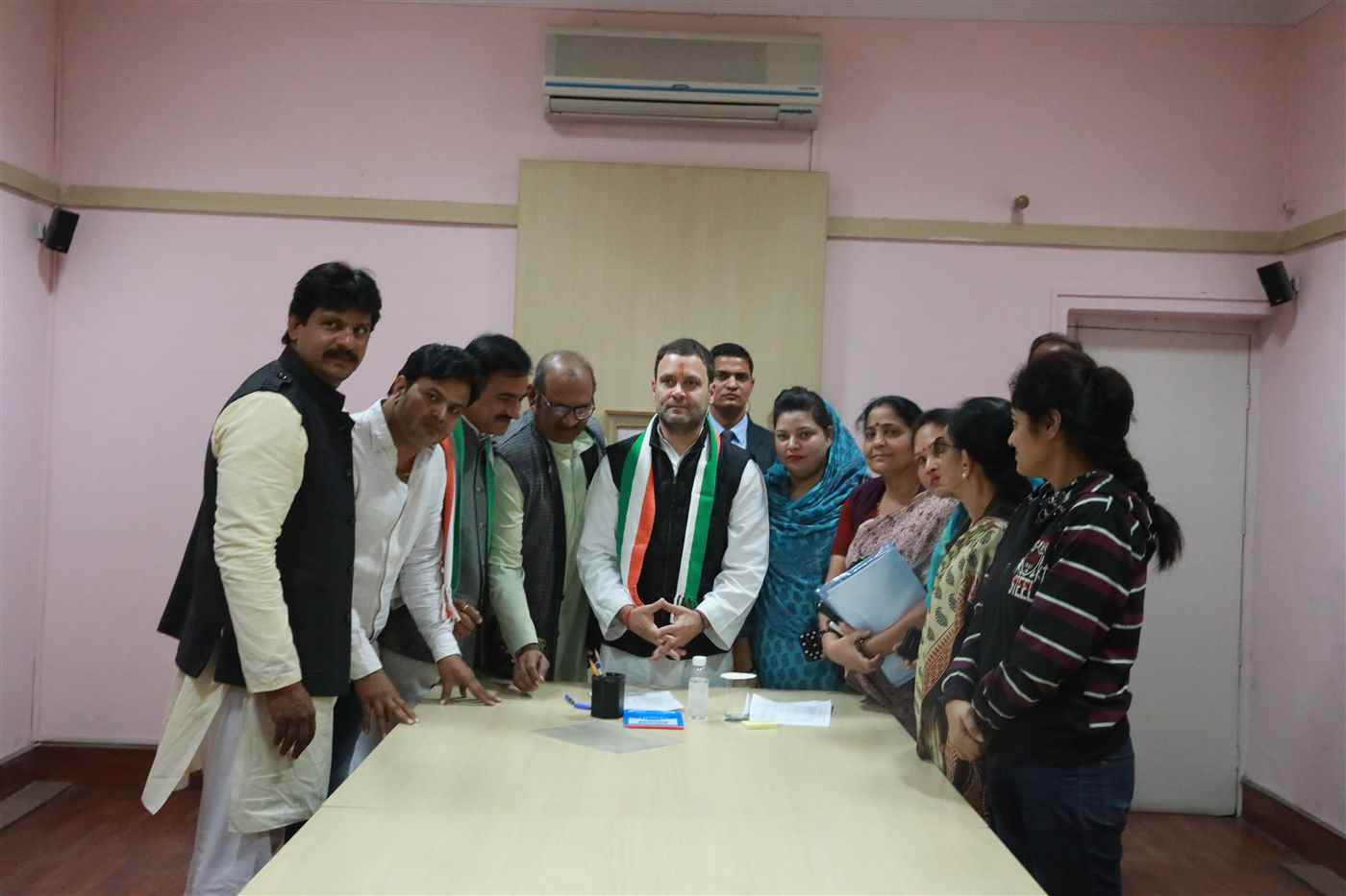 Rahul Gandhi files nomination for INC President 04 - 12 - 2017  3S4A1415