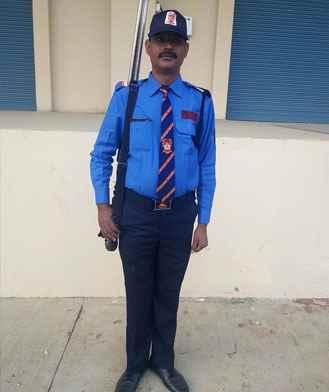Gunman Security Guard