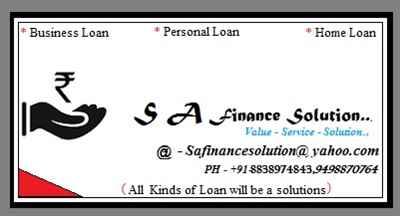 Sa Finance Solution