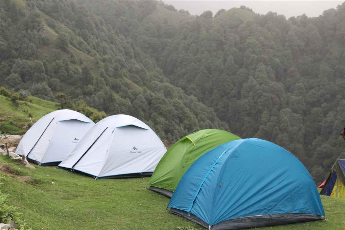 Paragliding + Trekking + Camping @ 3,950/-