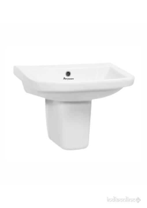 Wash Basin With Short Pedestal   Zest