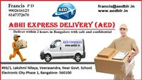 AED Courier Service Bangalore