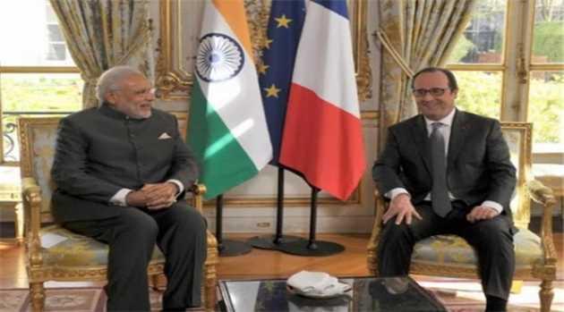 Modi-Hollande-ISA-headquarters-foundation