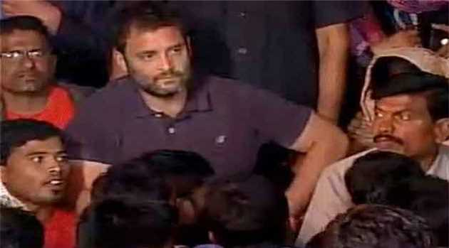 Rahul-Gandhi-joins-hunger-strike-hyderabad