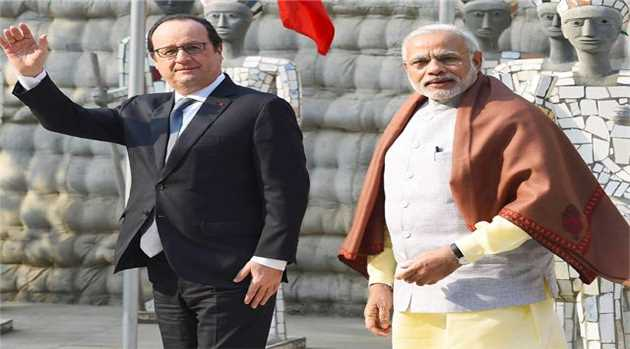 hollande-three-day-visit-republic-day