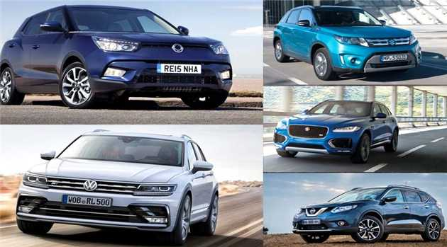 top-suv-cars-2016