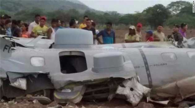 11 Killed in Colombia Military Plane Crash