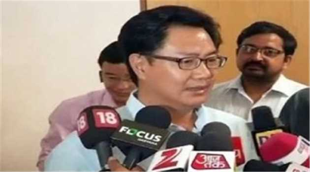 Amid Beef Row, Union Minister Rijiju Says Food Habits Can't Be Restricted