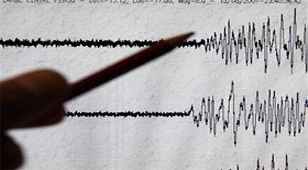 Earthquake-jolt