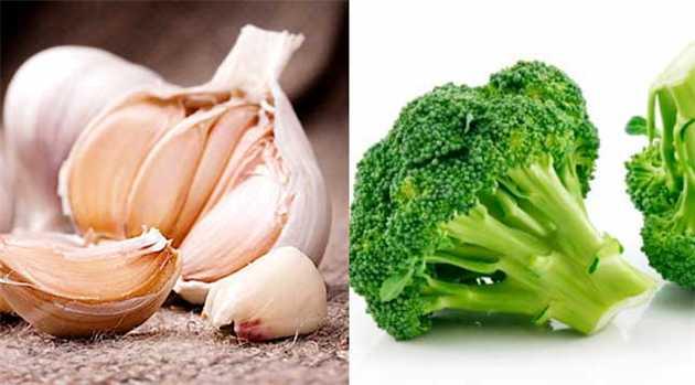 Garlic-and-Brocoli