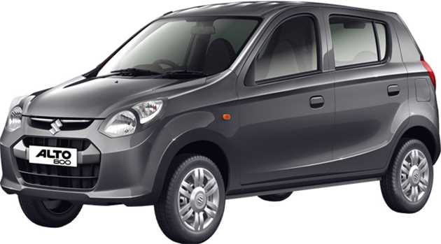 Maruti Suzuki Alto 800 Variants with Price List