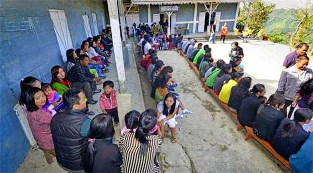 Tripura-voting