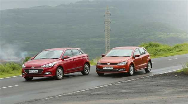 Compare Hyundai Elite i20 vs. Volkswagen Polo: Premium Hatchbacks
