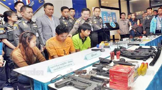 illegal-guns-Thailand
