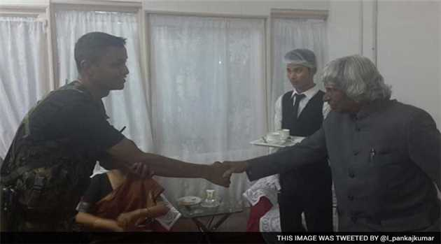 Kalam had Thanked Cop Moments Before he Collapsed