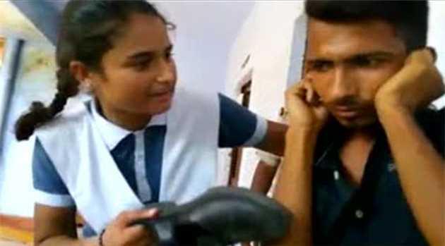 Teen Thrashes Eve-teaser Inside UP Police Station, Video Goes Viral