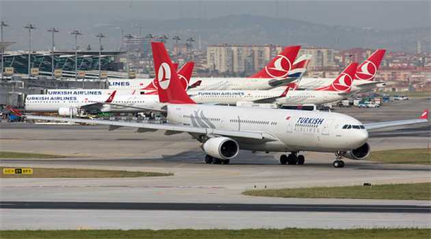 Emergency Landing by Turkish Airlines Flight After Bomb Scare