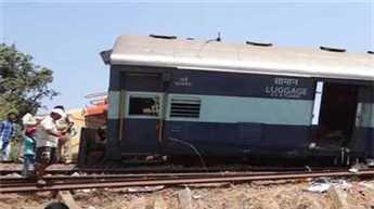 पटरी से उतरी चेन्नई-मंगलोर एक्सप्रेस, 38 घायल