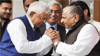 Samajwadi Party to contest five seats in Bihar: Lalu Prasad