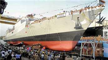 Indigenous anti-submarine corvette Kadmatt delivered to Navy