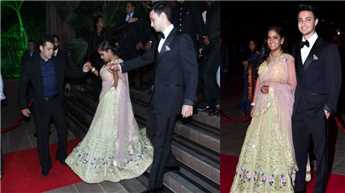 Salman attends Arpita's wedding reception, gets taste of Himachali culture