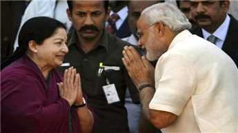 Modi congratulates Jayalalithaa on becoming CM