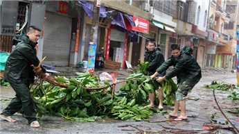 दक्षिण चीन में तूफान मूजिगे से 15 की मौत