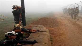 जम्मू में सीमा पर पाकिस्तान की ओर से गोलीबारी