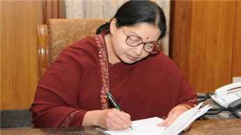जयललिता 5वीं बार मुख्यमंत्री बनीं, 28 मंत्रियों ने भी शपथ ली