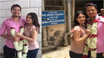 Minissha marries longtime beau