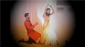 Shahid dances away with Mira on his wedding sangeet